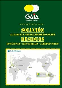 GAIA Catálogo Mayo 2015