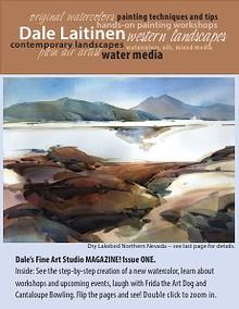 Dale Laitinen Fine Art Studio September 2012