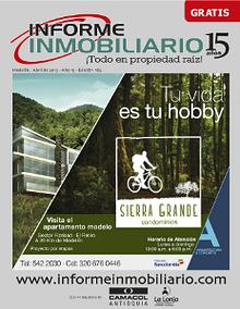 REVISTA INFORME INMOBILIARIO, EDICIÓN 182 DE ABRIL DE 2013
