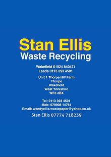 Stan Ellis Waste Paper Collections