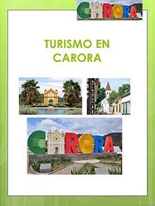 Turismo en Carora