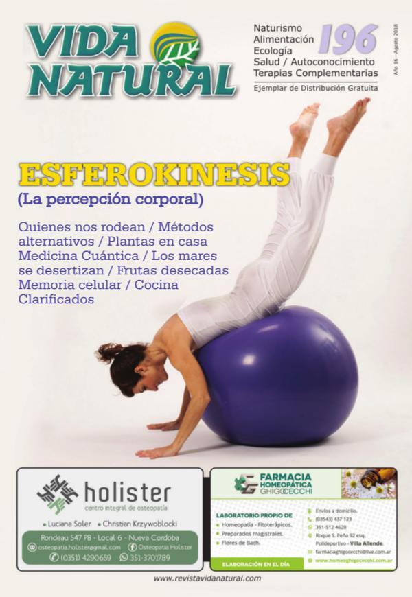 Revista Vida Natural Nro 196 - Agosto 2018