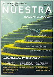 """""""Realidad ecologica actual del planeta"""""""