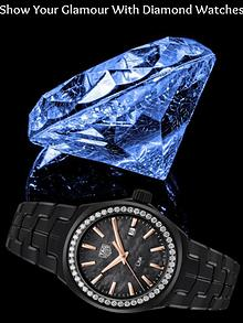 Show Your Glamour with Diamond Watches