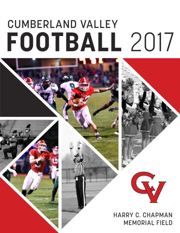Cumberland Valley Football Program (Digital Version) 2017 CVHS Football Program