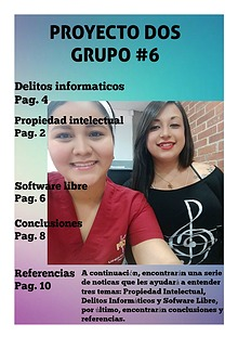 NRC: 4430 Proyecto 2 Grupo #6