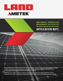 Application Note - Solar Industry