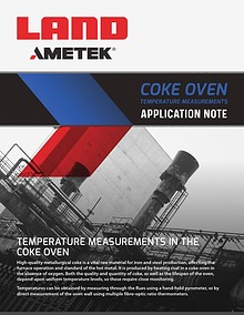 Application Note: Coke Oven Temperature Measurement