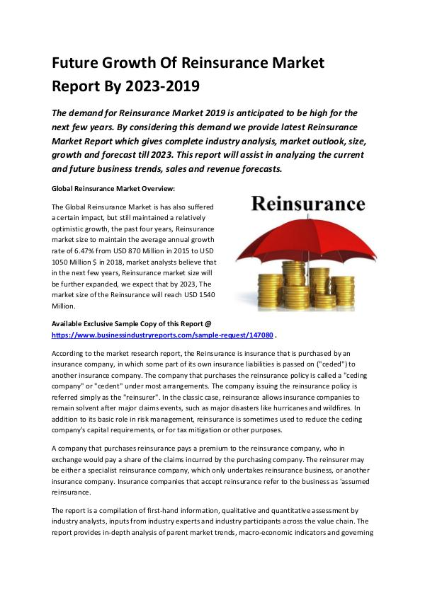 Global Reinsurance Market Report 2019-converted