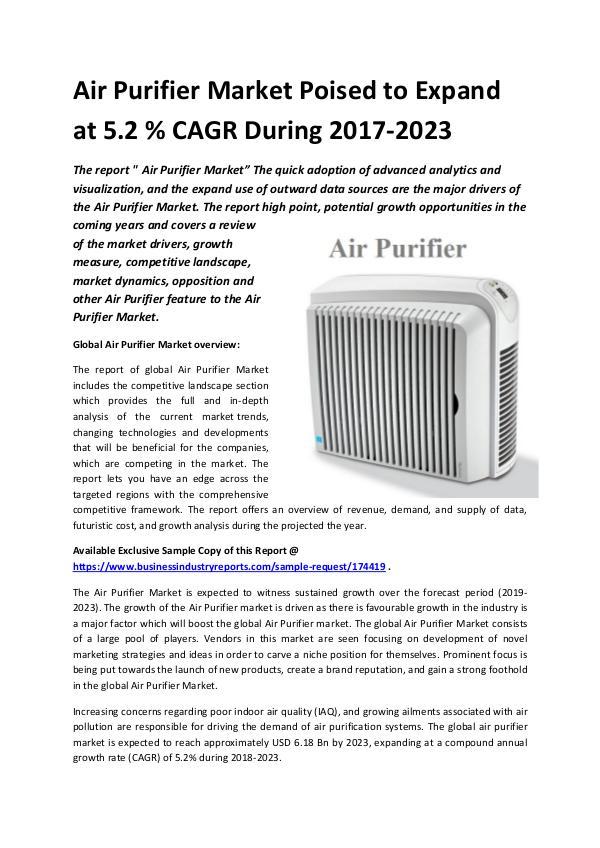 Global Air Purifier Market 2018-2023.docx