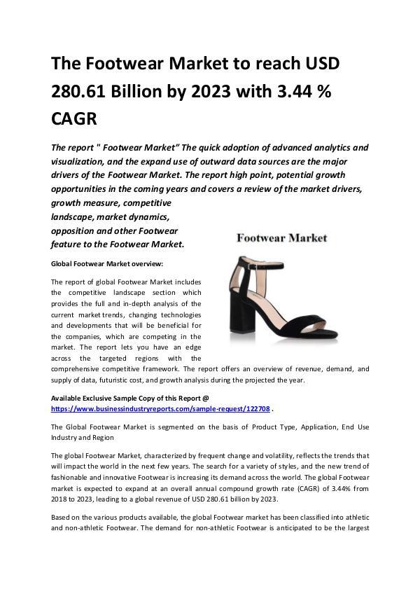 Global Footwear Market 2018-2023.docx