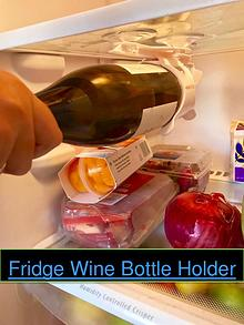 Fridge Wine Bottle Holder