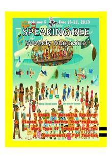Speaking Bee Weekly Magazine Volume 6