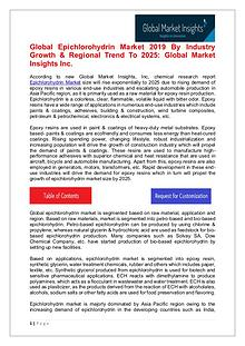 Epichlorohydrin Market - Share, Growth, Analysis, Forecast to 2025
