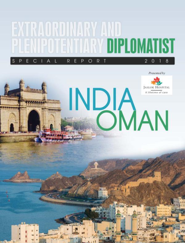 Diplomatist Magazine Oman 2018 - Special Report