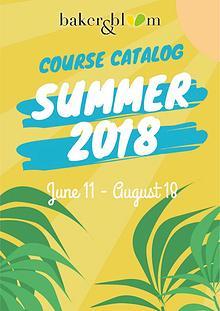 Summer Catalog 2018