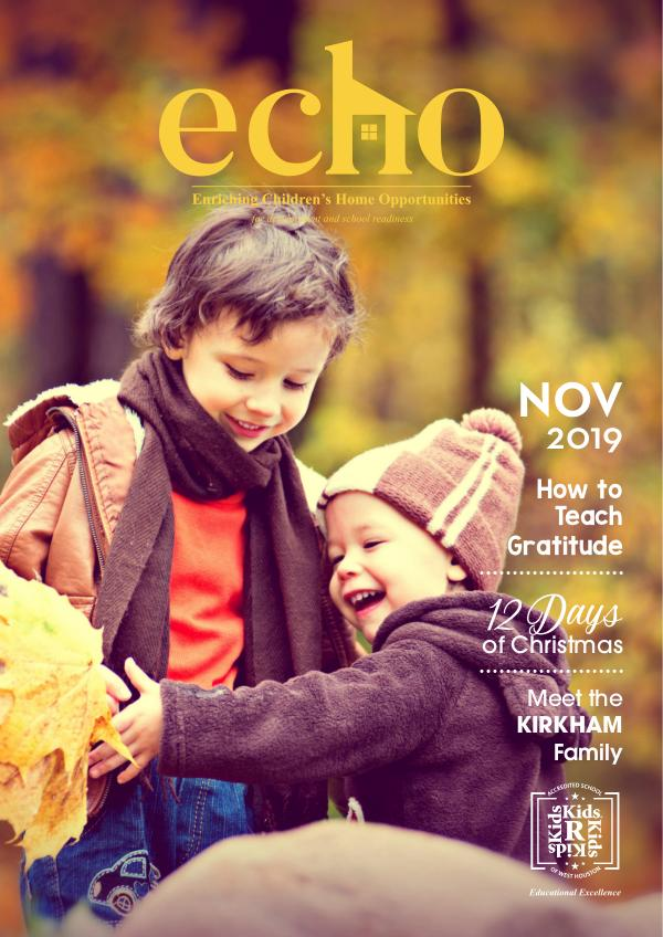 NOVEMBER 2019 19KRK010 NOV Newsletter