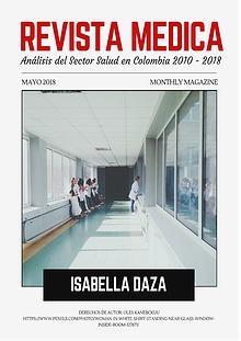 Análisis del Sector Salud y su Mercado Laboral - Isabella Daza 11A