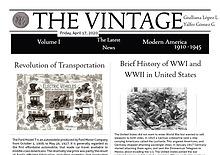 The Vintage NewsPaper