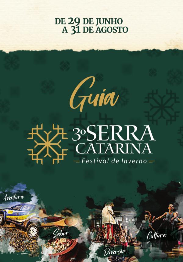 INVERNO 2018 GUIA FESTIVAL DE INVERNO - 2018