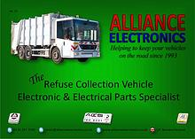 Refuse Collection Vehicle Parts 2018 from Alliance Electronics Ltd