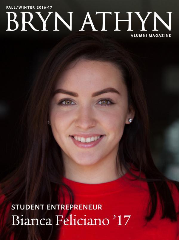 Bryn Athyn College Alumni Magazine Fall/Winter 2016-17