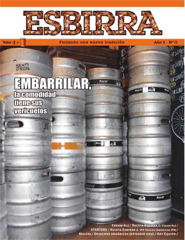 Revista Esbirra Nº 11 - Mayo de 2018 Revista Esbirra Nº 11 - Mayo 2018