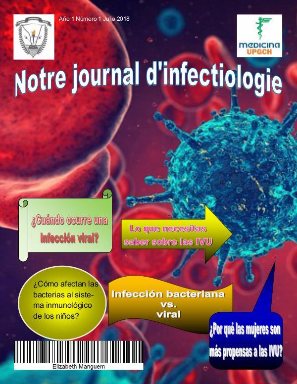 Notre Journal d´Infectiologie Manguem dominguez fatima elizabeth 1a3 revista de