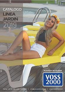 VOSS2000 - CATALOGO LINEA JARDIN 2018/2019