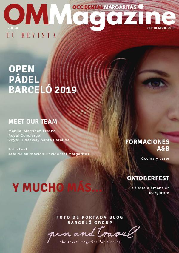 OMMagazine SEPTIEMBRE 2019