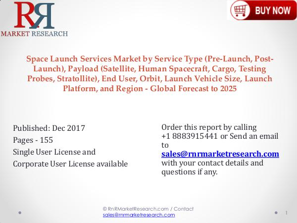 Space Launch Services: Industry Analysis,Trends, and Forecast to 2025 Space Launch Services Market