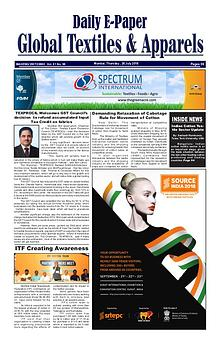 Global Textiles & Apparels - Daily E-Paper (26 July 2018)