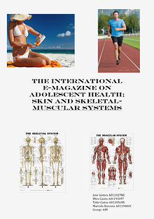 International eMagazine on adolescent health: skin and muscular systems