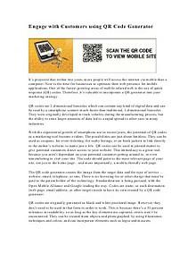 QR Code Generator   QR Code Creator