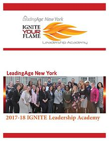 LeadingAge New York 2018 Leadership Academy Action Learning Project