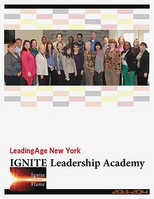 Leadership Academy 2013-14 LeadingAge New York