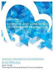 LeadingAge New York Annual Conference 2016 Prospectus