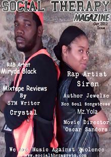 Oct Issue Featuring R&B Artist Miryda Black & Rap Artist Siren