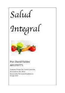 Salud Integral Proyecto Final