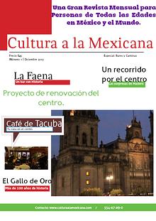 Cultura a la Mexicana
