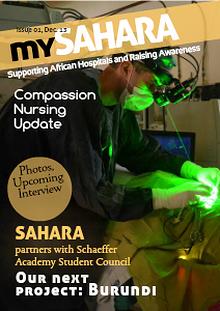 SAHARA Newsletter
