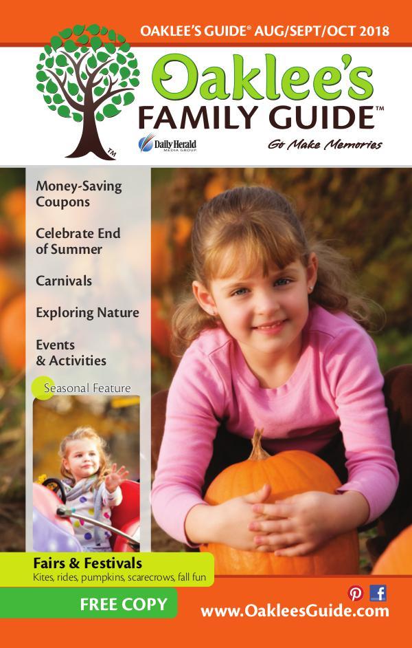 Oaklee's Family Guide August/September/October 2018