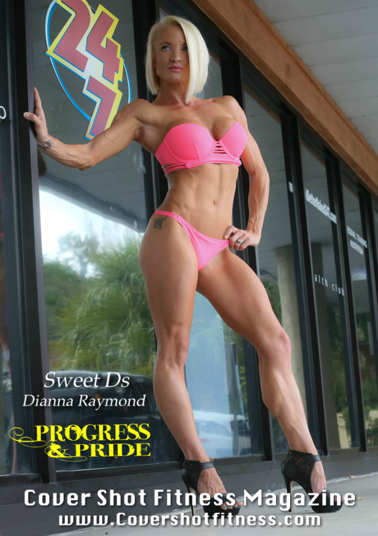 Cover Shot Fitness Magazine Issue 23 Dianna Raymond
