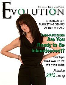 Evolution Magazine December 2013