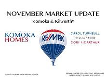 KOMOKA & KILWORTH - NOVEMBER MARKET UPDATE 2013