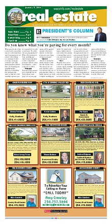 Weekly publication of homes from the Wacotrib.