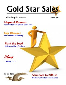 March Gold Star Sales