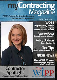 WIPP's myContracting Magazine